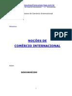 Nocoes de Comercio Internacional
