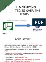 pestel analysis of hindustan unilever hul unilever business hul marketing starategies over the years