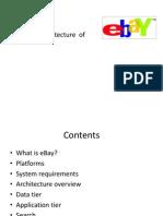 Ebay Architecture