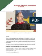 Discurso Steve Jobs en Español