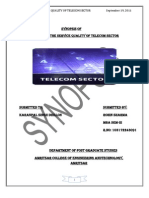 Synopsis of Telecom Sector
