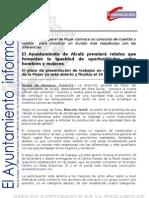MUJER Relatos y Cuentos Para La Igualdad 2011