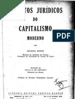 Ripert, Aspectos Juridícos Capitalismo
