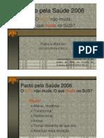 Pacto pela Sade 2006