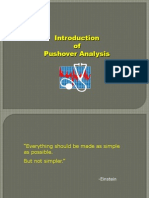 Non Linear Analysis Pushover