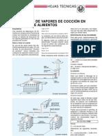 Extraccion de Vapores de Coccion