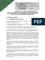 Terminos de Referencia SPO-05-2011
