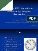 APA Presentation Feb 2010