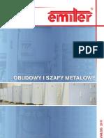 Katalog Obudowy i Szafy Metalowe - 2011 - Pl