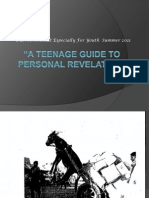 A Teenage Guide to Personal Revelation