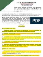 Lei 7.098 de 30 de Dezembro de 1998 - Icms