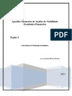 Apostila de Analise de Viabilidade Economica e Financeira Vol I