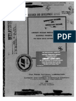 Aircraft Nuclear Propulsion Project Quarterly Progress Report for Period Ending September 10, 1953