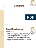 3. Brand Positioning