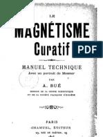 A. Bue - Le Magnétisme curatif