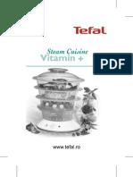 Manual Steemer Tefal