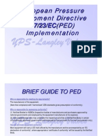 YPS PED Implementation