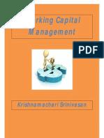 Working Capital Management - By Krishnamachari Srinivasan