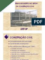 Gestão na Construção Civil