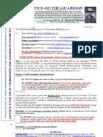 111006-Julia Gillard MP -Misuse of Trademark -WARRANT - Suspension of Pension - Etc