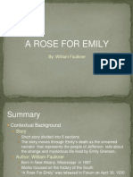 A Rose for Emily- Report
