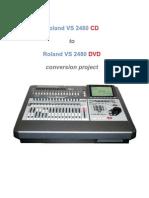 ConvertingVS 2480CDto2480DVD