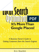 Local Search Optimization - It's More Than Google Places Preview