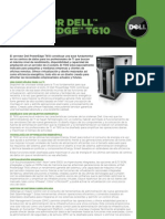 Server Poweredge t610 Specs Eses