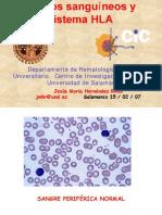 Grupos Sanguineos y Sistema HLA