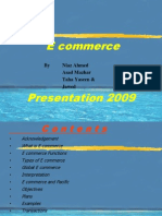 Ecommerce Present a Ion