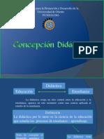 Concepción Didáctica.