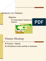 Sources of Finance(2)