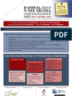 2nd Annual Asian Lean Six Sigma & Process Excellence Summit 2012