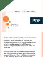 Gul Ahmed Textile Mills Ltd