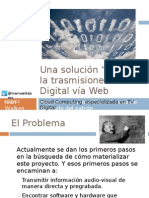 Una solución WEBTV