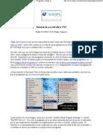 Tutorial de uso del ultra VNC - Versión imprimible - Programas - Flopy