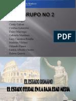 Estado Romano y Feudal II