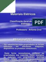 Materiais Elétricos AULA 1