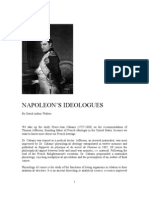 Napoleon's Ideologues