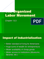 The Organized Labor Movement - 13.3