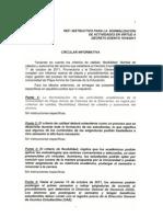 Circular Informativa 05 Octubre
