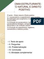 Ponto 3 Direito Natural e Positivo