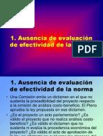 CDG - Aplicación de la teoría del Acto Parlamentario (diez casos)