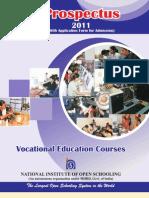 Vocational Prospectus 2011