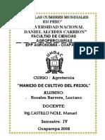 manual de cultivo frijol