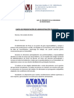 Presentación Administración de Fincas AOM