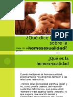 Qué dice la biblia sobre la homosexualidad