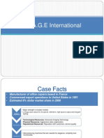 Image International Case Analysis