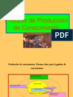 Proceso de Produccion de Conocimiento