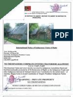 Indigenous Claim on 125,126 Bayou Road